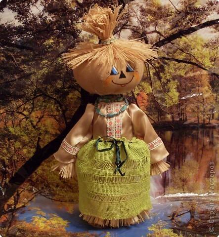 Куклы Шитьё: Тыковка..... Ткань. Фото 1