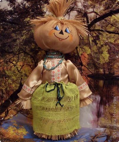 Куклы Шитьё: Тыковка..... Ткань. Фото 2