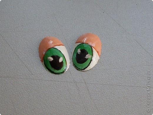 Мастер-класс Роспись: Мультяшный взгляд. Глазки.... Материал бросовый. Фото 1