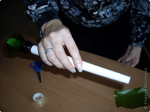 Мастер-класс: Новогодняя ёлочка Материал бросовый Новый год. Фото 5