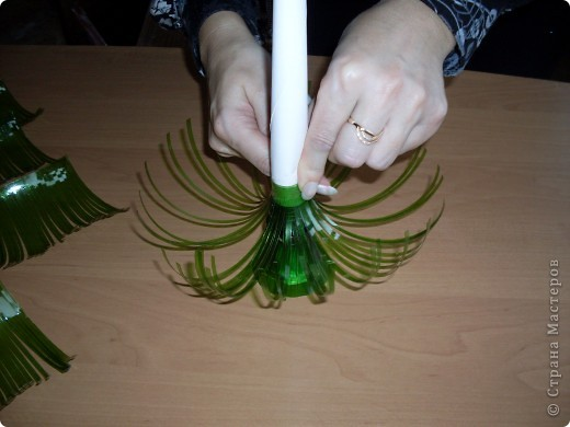 Из чего можно сделать новогоднюю ёлочку. как сделать елочку на новый год, новогодняя елочка из пластиковой бутылки, новогодние украшения из бросового материала, Поделки на новый год Хьюго Пьюго,