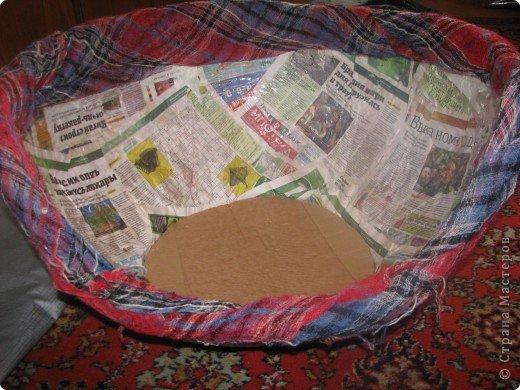 Мастер-класс Папье-маше: Мастер-класс Мягкое кресло для сынули. Бумага, Бумага газетная, Бумага журнальная, Картон, Клей, Поролон, Скотч, Ткань, Фанера. Фото 9
