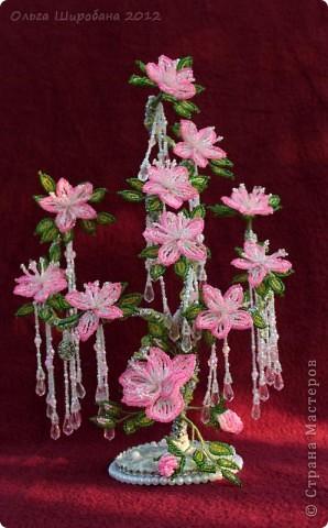 Мастер-класс, Поделка, изделие Бисероплетение:   Розовые сны, + мк: часть I Бисер. Фото 1