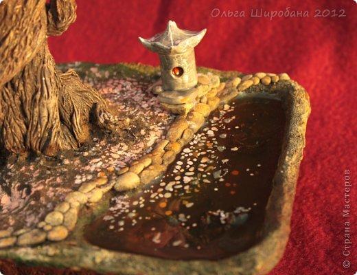 Бонсай, топиарий Бисероплетение: МК - Водоем из эпоксидного клея Бисер. Фото 1