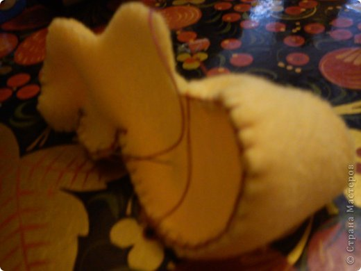 Мастер-класс Шитьё: Бегемотик. Ткань. Фото 7
