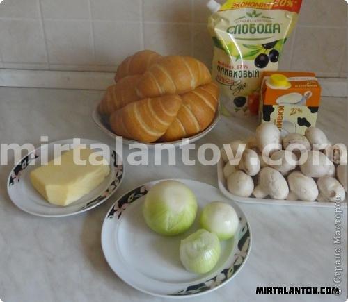 Кулинария, Мастер-класс Рецепт кулинарный: Жюльен в круассанах. Продукты пищевые. Фото 2