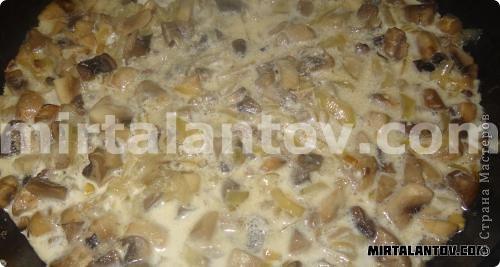 Кулинария, Мастер-класс Рецепт кулинарный: Жюльен в круассанах. Продукты пищевые. Фото 7