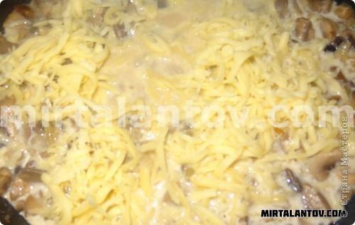 Кулинария, Мастер-класс Рецепт кулинарный: Жюльен в круассанах. Продукты пищевые. Фото 9
