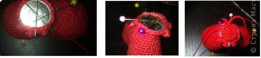 Мастер-класс Вязание крючком: к дню Святого Валентина Нитки Валентинов день. Фото 10