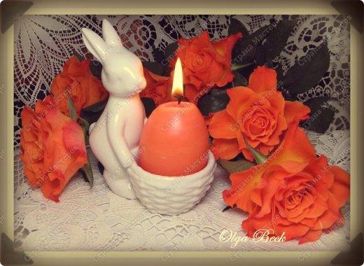 Мастер-класс, Поделка, изделие: Пасхальные свечи своими руками или  МК для Плюшкиных Воск, Материал бросовый, Пластилин, Свечи, Скорлупа яичная Пасха. Фото 1