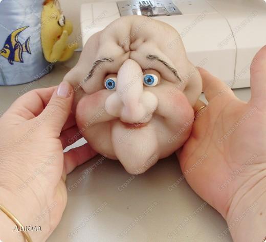 Мастер-класс Шитьё: Кукла-домашка. Часть первая. Личико.... Ткань. Фото 1