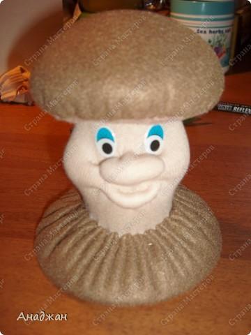 Куклы, Мастер-класс, Поделка, изделие Шитьё: Игольница-грибок с тайничком +МК Нитки, Ткань. Фото 17