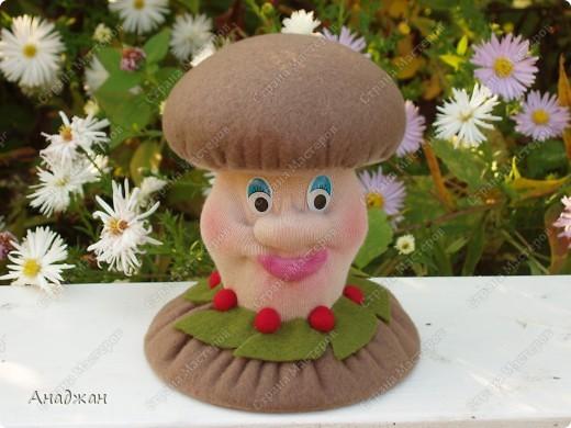 Куклы, Мастер-класс, Поделка, изделие Шитьё: Игольница-грибок с тайничком +МК Нитки, Ткань. Фото 19