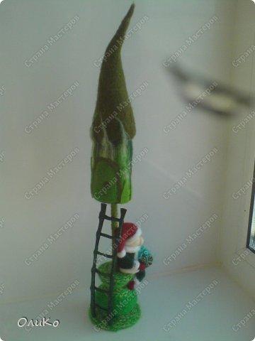 Интерьер Валяние (фильцевание): Игольницы Бисер, Пластика, Шерсть День рождения, Новый год. Фото 10