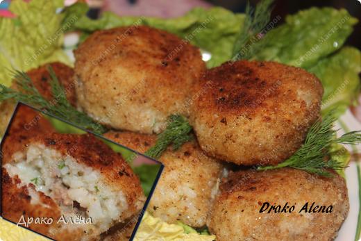 Мастер-класс Рецепт кулинарный: Рисовые колобки с тунцом Продукты пищевые. Фото 1