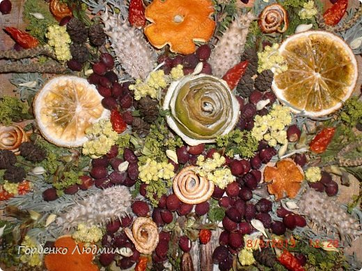 Мастер-класс Поделка изделие Ассамбляж Панно из природных материалов+небольшой МК Материал природный Трубочки коктейльные фото 13