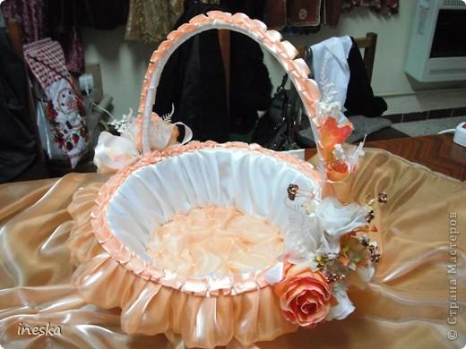 Мастер-класс Шитьё: Декор корзины для свадьбы для Лесной нимфы и всем кому пригодится Свадьба. Фото 1