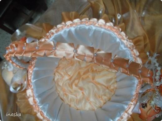 Мастер-класс Шитьё: Декор корзины для свадьбы для Лесной нимфы и всем кому пригодится Свадьба. Фото 2