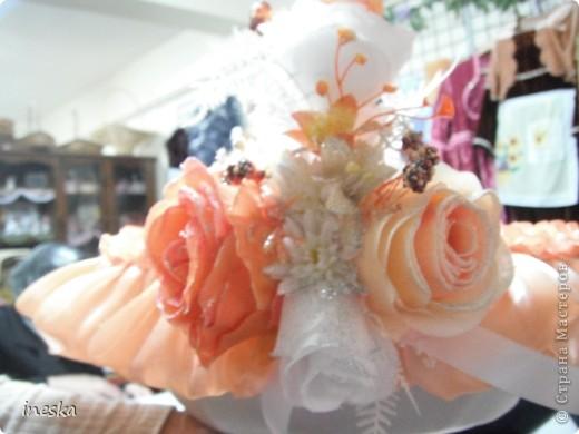 Мастер-класс Шитьё: Декор корзины для свадьбы для Лесной нимфы и всем кому пригодится Свадьба. Фото 3