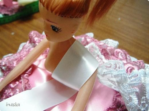 Куклы, Мастер-класс Шитьё: Мои шкатулки Барби обещанный МК 8 марта, Валентинов день, День рождения, День семьи, Новый год. Фото 24