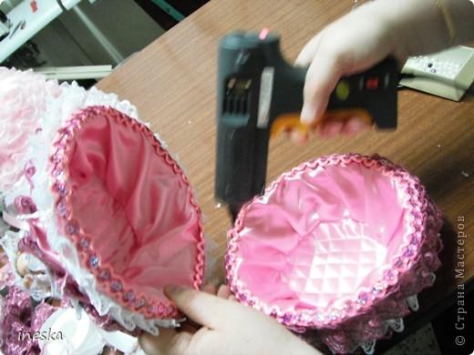 Куклы, Мастер-класс Шитьё: Мои шкатулки Барби обещанный МК 8 марта, Валентинов день, День рождения, День семьи, Новый год. Фото 32