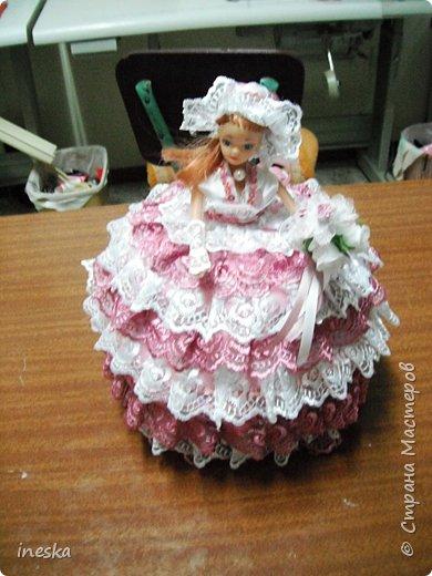 Куклы, Мастер-класс Шитьё: Мои шкатулки Барби обещанный МК 8 марта, Валентинов день, День рождения, День семьи, Новый год. Фото 34
