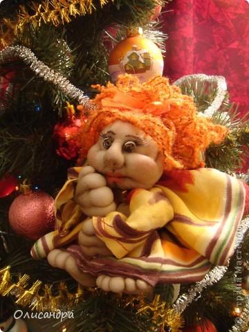 Благодаря Ликме, полюбила текстильные игрушки...Больше всего понравилось делать попиков.Это моя вторая куколка.... Фото 1