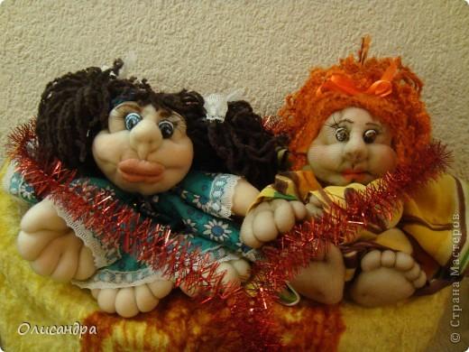 Благодаря Ликме, полюбила текстильные игрушки...Больше всего понравилось делать попиков.Это моя вторая куколка.... Фото 4