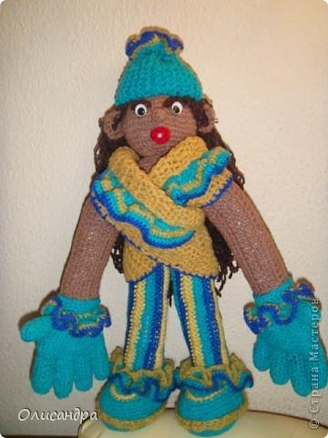 """Все-таки, интернет- это великая """"вещь""""...Увидишь что-нибудь, и так захочется сделать... Это произошло, когда я впервые увидела кукол Нелли Больгерт ... http://www.beadsky.com/nelly_borgelt.php?ln=ru http://www.sgddik.de/nelli/_ru/index.html Забавные человечки с большими руками показались мне очень милыми.... Фото 2"""