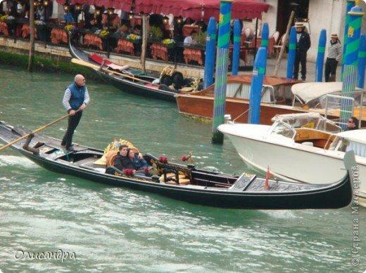 Мы едем в Венецию. Это была моя мечта ,я думала,что несбыточная... На этом катере  домчались туда за 20 минут и 7,5 евро.... Фото 12