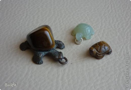 Продолжаю показывать своих черепашек. Начало можно посмотреть здесь http://stranamasterov.ru/node/151515. Фигурки куплены нами или подарены друзьями и родными, поэтому попадаются вроде бы одинаковые, но разного оформления. Рассказы о черепахах, как о живых или мифических существах или о символах предлагаю почитать у Олиандры.   Решила начать с микрораздела.  Это броши. . Фото 11