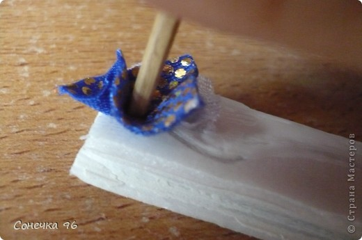 Мастер-класс Торцевание: Бабочка+МК Ткань. Фото 11