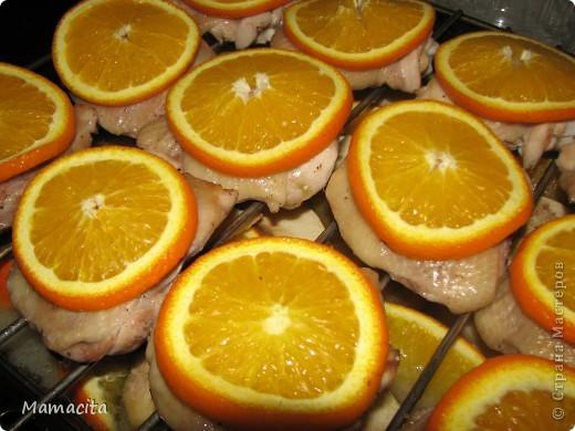 Кулинария Мастер-класс Рецепт кулинарный Куриные бедрышки с яблочно-апельсиновым ароматом Овощи фрукты ягоды Продукты пищевые фото 1