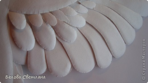 Картина, панно, рисунок Бумагопластика, Квиллинг: Голуби ко дню любви, семьи и верности Бумага. Фото 9