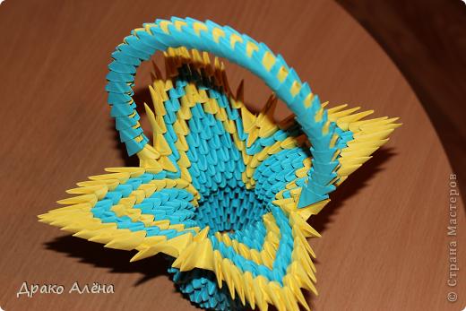 Мастер-класс Оригами модульное: МАСТЕР КЛАСС Корзинки Бумага. Фото 1