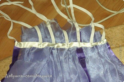 Поделка, изделие Шитьё: Лавандовая свадьба: украшение на автомобиль + Мастер-класс Свадьба. Фото 11