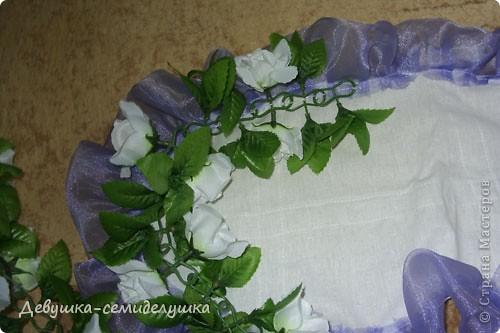Поделка, изделие Шитьё: Лавандовая свадьба: украшение на автомобиль + Мастер-класс Свадьба. Фото 17