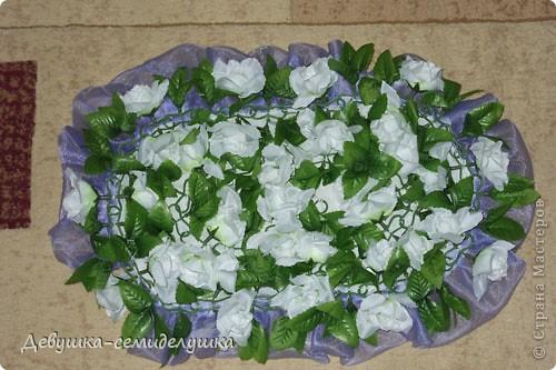 Поделка, изделие Шитьё: Лавандовая свадьба: украшение на автомобиль + Мастер-класс Свадьба. Фото 18