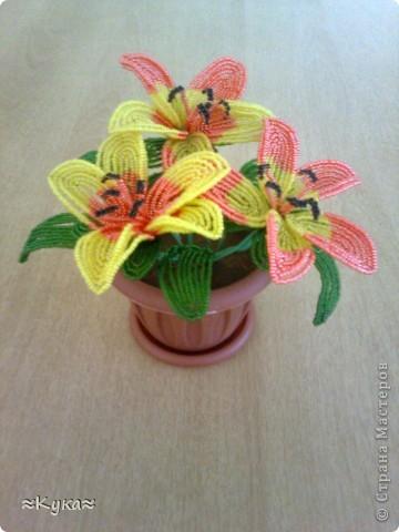 Мастер-класс Бисероплетение: Цветок из бисера! Бисер Отдых. Фото 1