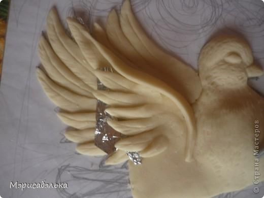 Картина, панно, рисунок Лепка: Голуби Тесто соленое. Фото 17
