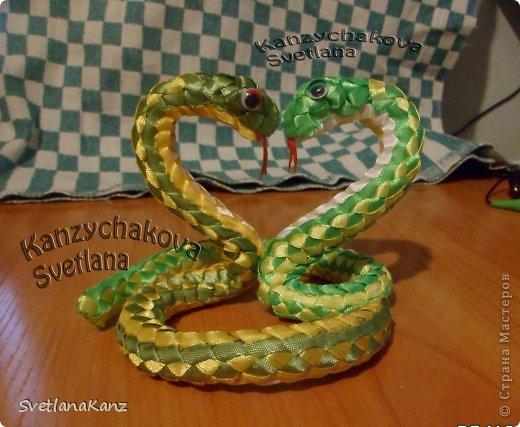Мастер-класс Плетение: МК Змейки.