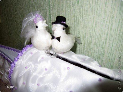 Мастер-класс Моделирование: Свадебный сундучок для денег Бисер, Картон, Ленты, Ткань Свадьба. Фото 26