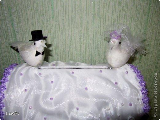 Мастер-класс Моделирование: Свадебный сундучок для денег Бисер, Картон, Ленты, Ткань Свадьба. Фото 27