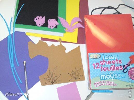 """Декор предметов, Мастер-класс, Поделка, изделие Аппликация, Лепка: Цветочный горшок """"Джунгли"""". Клей, Краска, Продукты пищевые, Салфетки, Тесто соленое. Фото 11"""