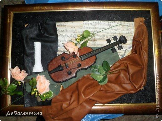 Дорогие мастерицы, представляю Вашему вниманию Заключительную часть Мастер-класса по созданию картины из кожи своими руками!!!. Фото 14