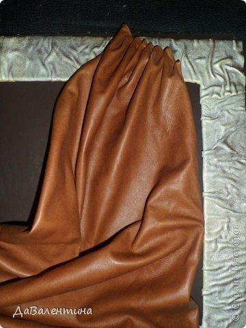 Дорогие мастерицы, представляю Вашему вниманию Заключительную часть Мастер-класса по созданию картины из кожи своими руками!!!. Фото 24