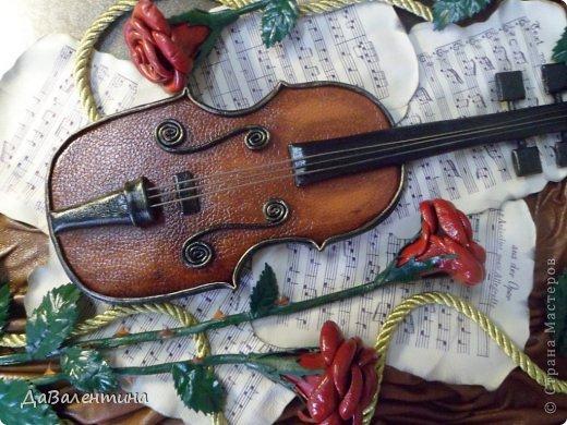 """Мастер-класс Коллаж: Картина из кожи.""""Скрипка и розы"""". Мастер-класс или этапы создания. Часть 3. Кожа Дебют. Фото 1"""