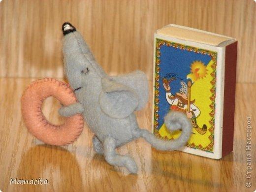 Игрушка, Мастер-класс, Поделка, изделие Шитьё: Счастливый мышонок Шмыг  Ткань. Фото 10