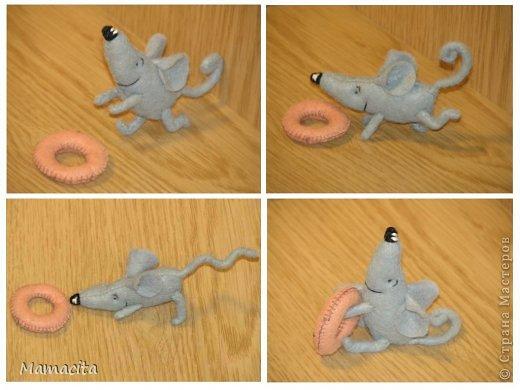 Игрушка, Мастер-класс, Поделка, изделие Шитьё: Счастливый мышонок Шмыг  Ткань. Фото 9