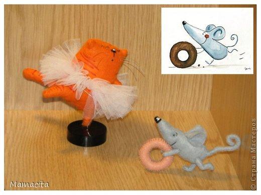 Игрушка, Мастер-класс, Поделка, изделие Шитьё: Счастливый мышонок Шмыг  Ткань. Фото 2